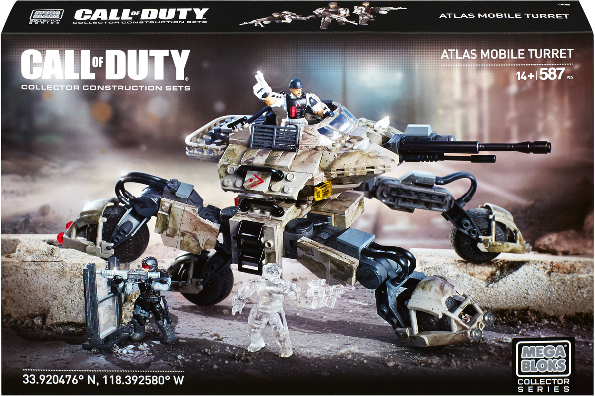 Mega Bloks Call Of Duty Конструктор Atlas 20916 call of duty black ops