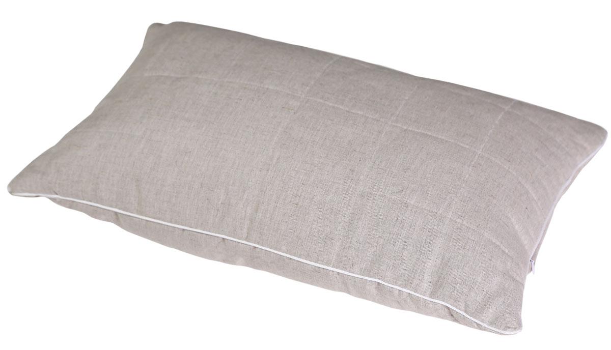 Подушка Bio-Textiles Полезный сон, наполнитель: лебяжий пух, цвет: бежевый, 50 х 70 см. PSL737 подушка bio textiles полезный сон наполнитель лебяжий пух цвет бежевый 50 х 70 см psl737