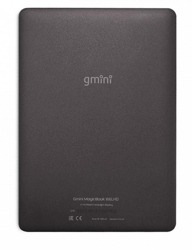 Электронная книга Gmini MagicBook W6LHD, Black Gmini