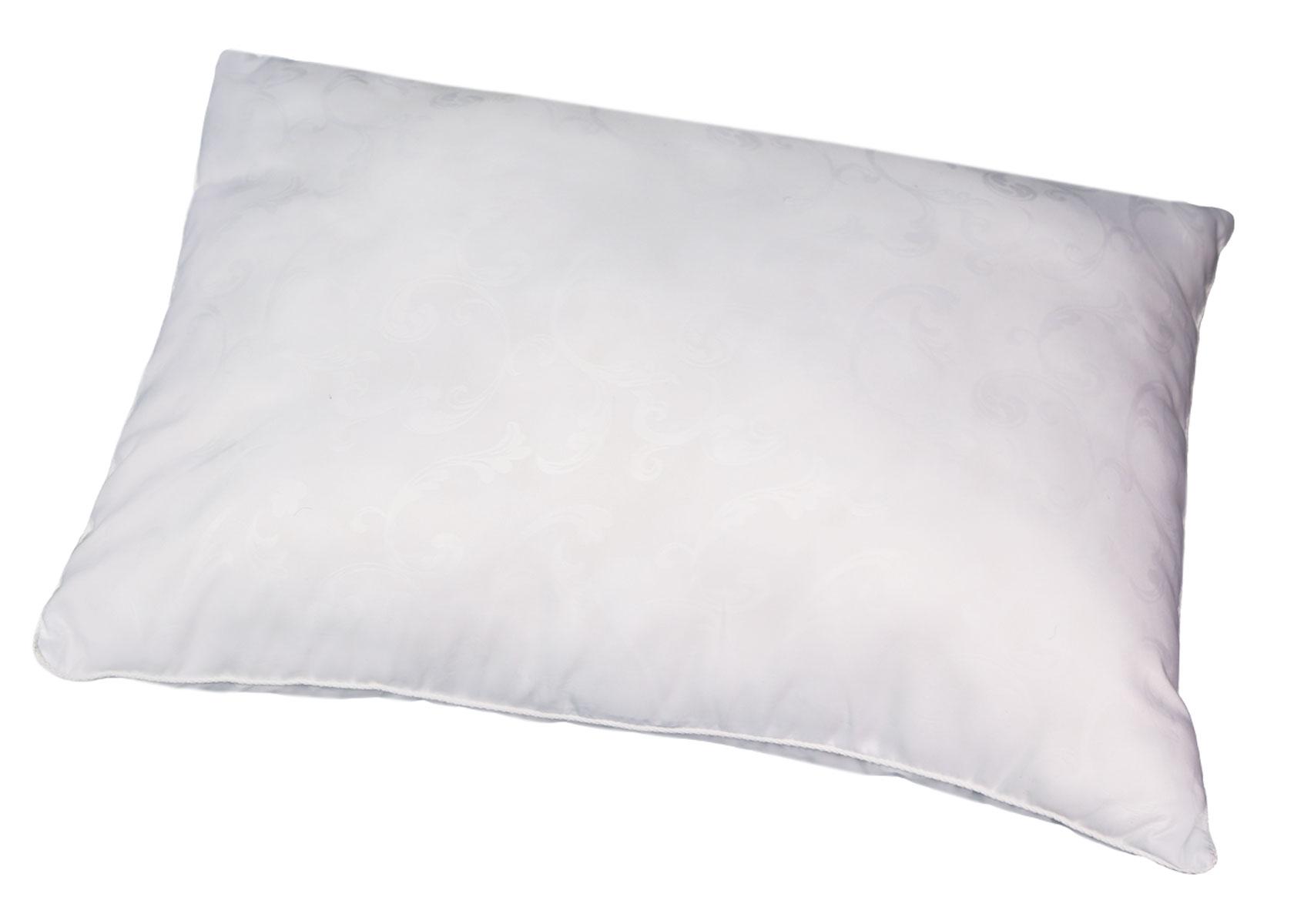 Подушка Bio-Textiles Сила природы, наполнитель: полиэстер, цвет: белый, 50 х 70 см. SP677