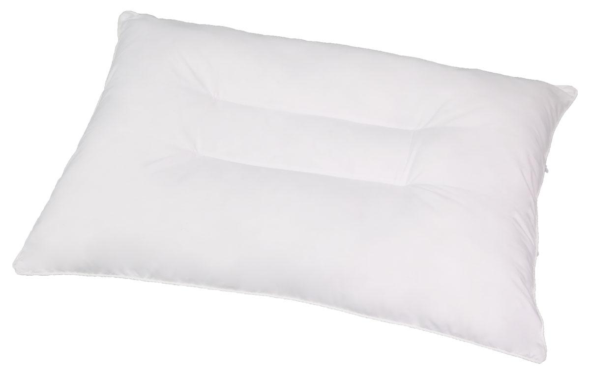 Подушка ортопедическая Bio-Textiles Магия, наполнитель: лебяжий пух, цвет: белый, 50 х 70 см. AM315