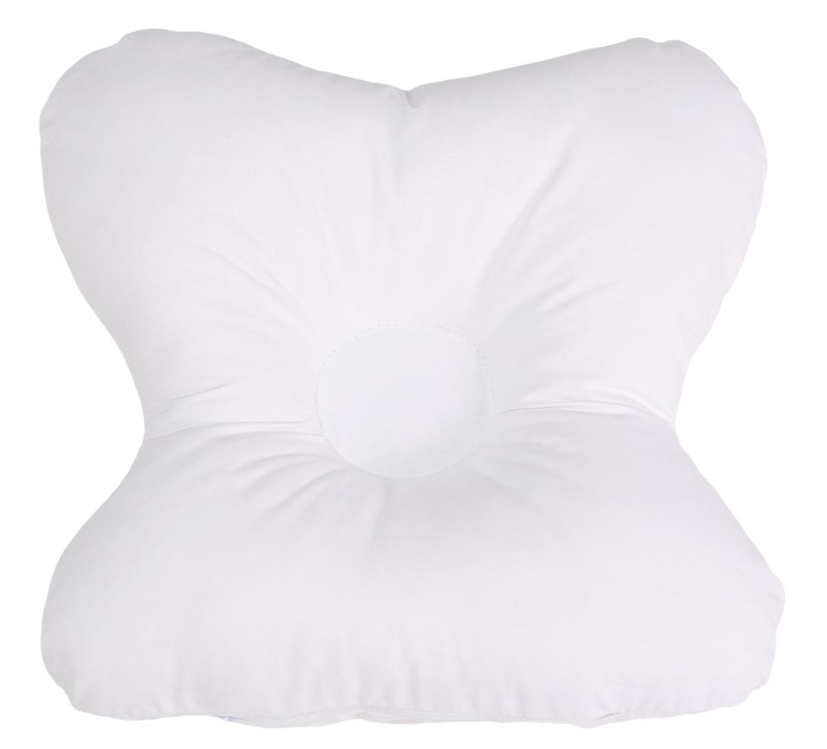 Bio-Textiles Подушка детская Малютка наполнитель лузга гречихи цвет белый 27 х 24 см M070