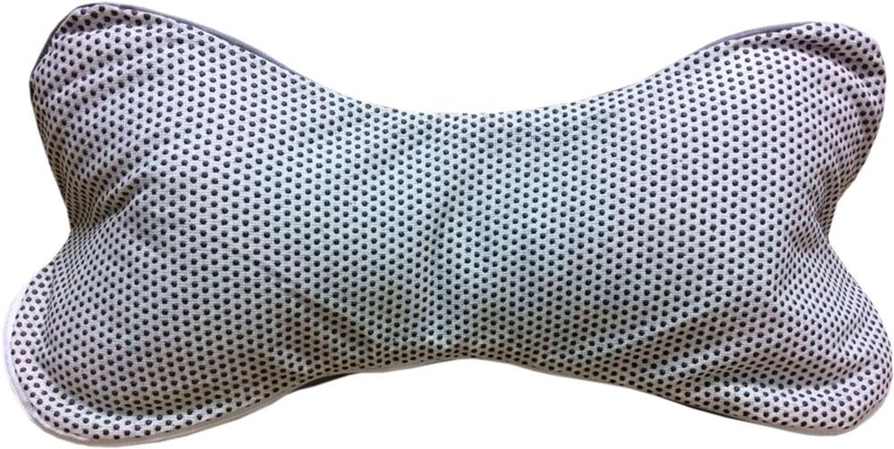 Подушка Bio-Textiles Косточка, с массажным эффектом, наполнитель: лузга гречихи подушка косточка лузга гречихи тик 35 18
