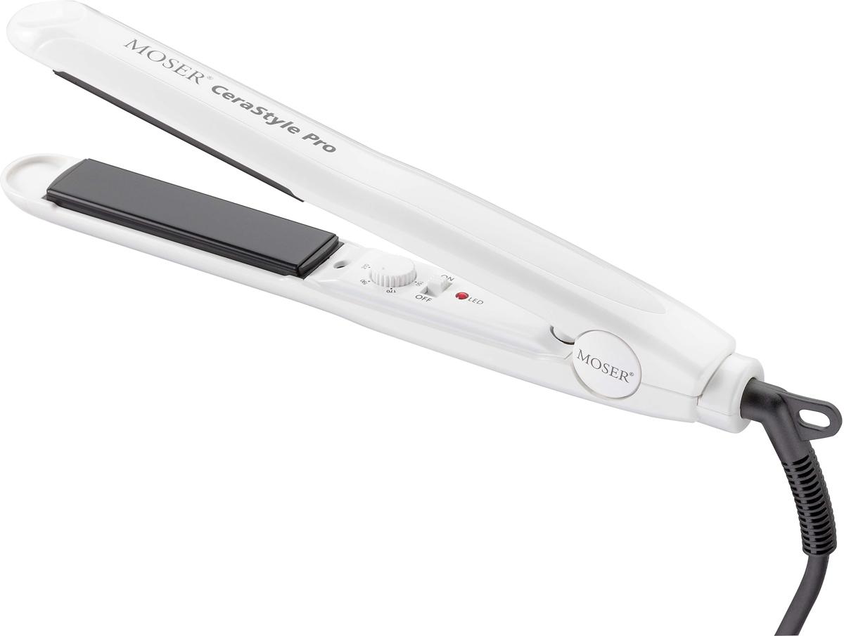 Выпрямитель для волос Moser CeraStyle Pro 4417-0051, White Black moser pro 1881 0051