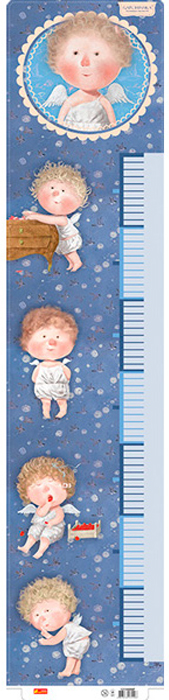 все цены на Ranok Ростомер для мальчика Ангелочек цвет фиолетовый (Гапчинская) онлайн
