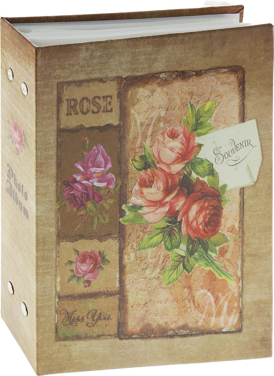 Фотоальбом Platinum Красная роза, 200 фотографий, 10 x 15 см фотоальбом platinum классика love 200 фотографий 10 x 15 см