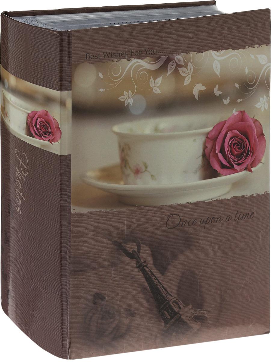 Фотоальбом Platinum Классика, 300 фотографий, цвет: бежевый, розовый, 10 x 15 см фотоальбом platinum классика love 200 фотографий 10 x 15 см