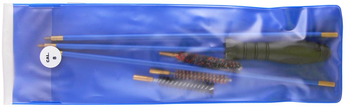 Набор для чистки нарезного оружия Nimar, калибр 8 мм, 4 предмета