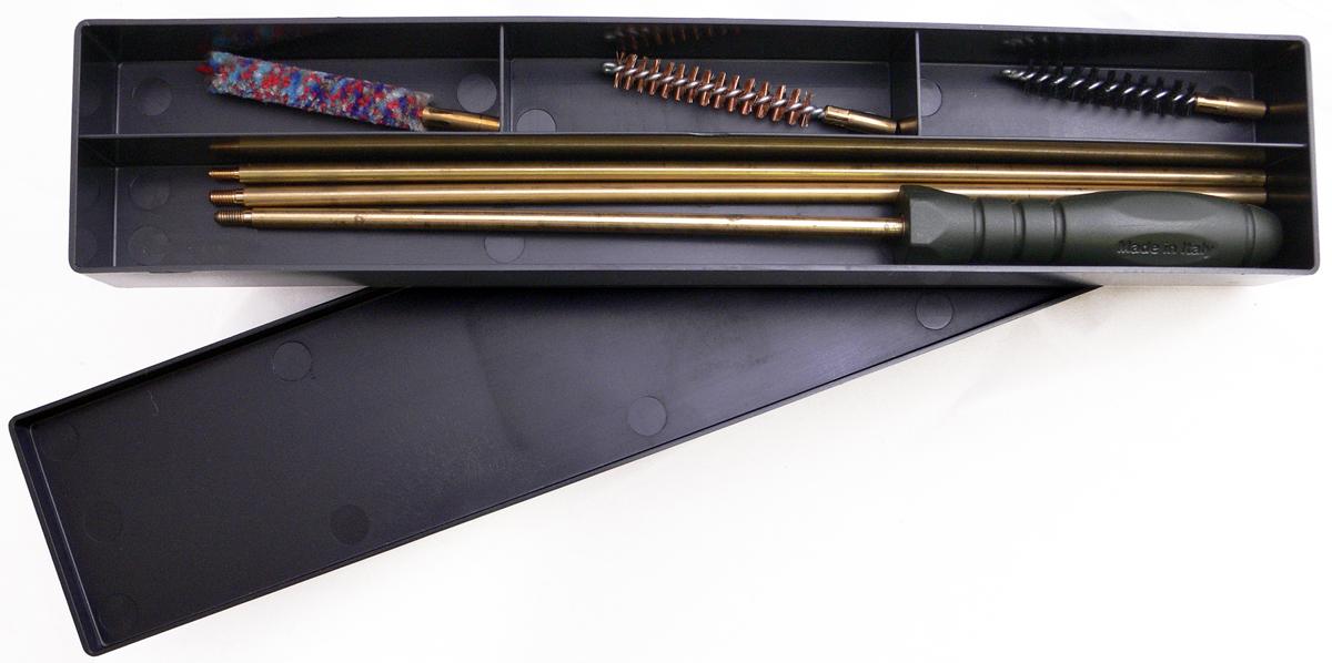 Набор для чистки коробка Nimar, калибр 8 мм, 4 предмета 210.0008