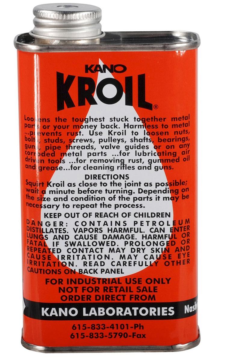Масло Kano Kroil, универсальное, с высокой проникающей способностью, 236 мл