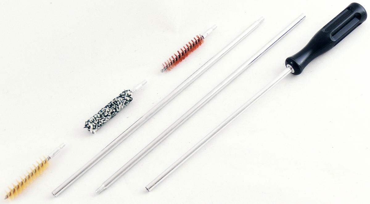 Набор для чистки нарезногог оружия ShotTime, калибр 9 мм, 4 предмета