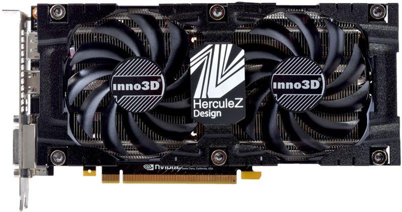 Видеокарта Inno3D GeForce GTX 1070 TWIN X2 V3 8GB