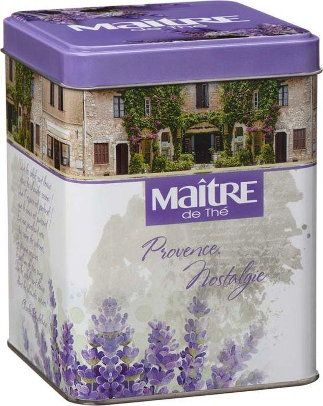 Maitre чай черный листовой provance nostalgie, 100 г maitre восточная сказка набор черного листового чая 60 г