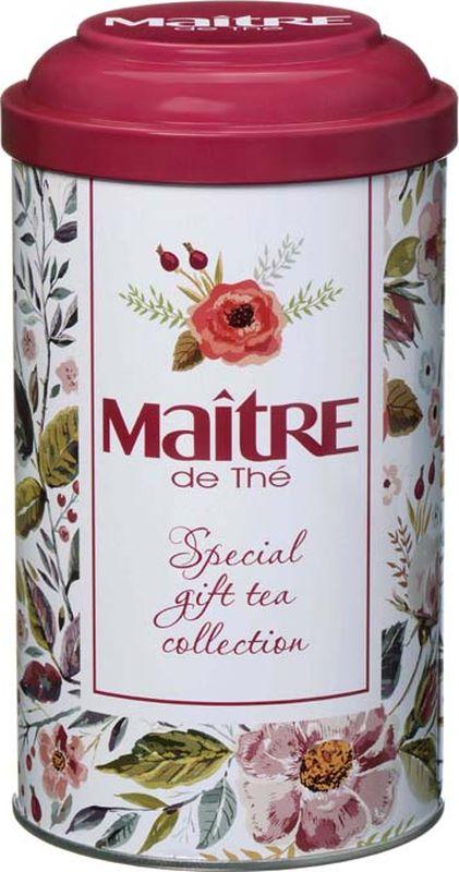Maitre чай черный листовой rose sauvage, 90 г maitre имбирный пряник черный листовой чай 90 г