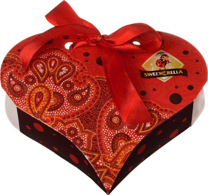 Sweeterella Сердце востока шоколадные конфеты, 130 г sweeterella конфеты домик счастья 170 г