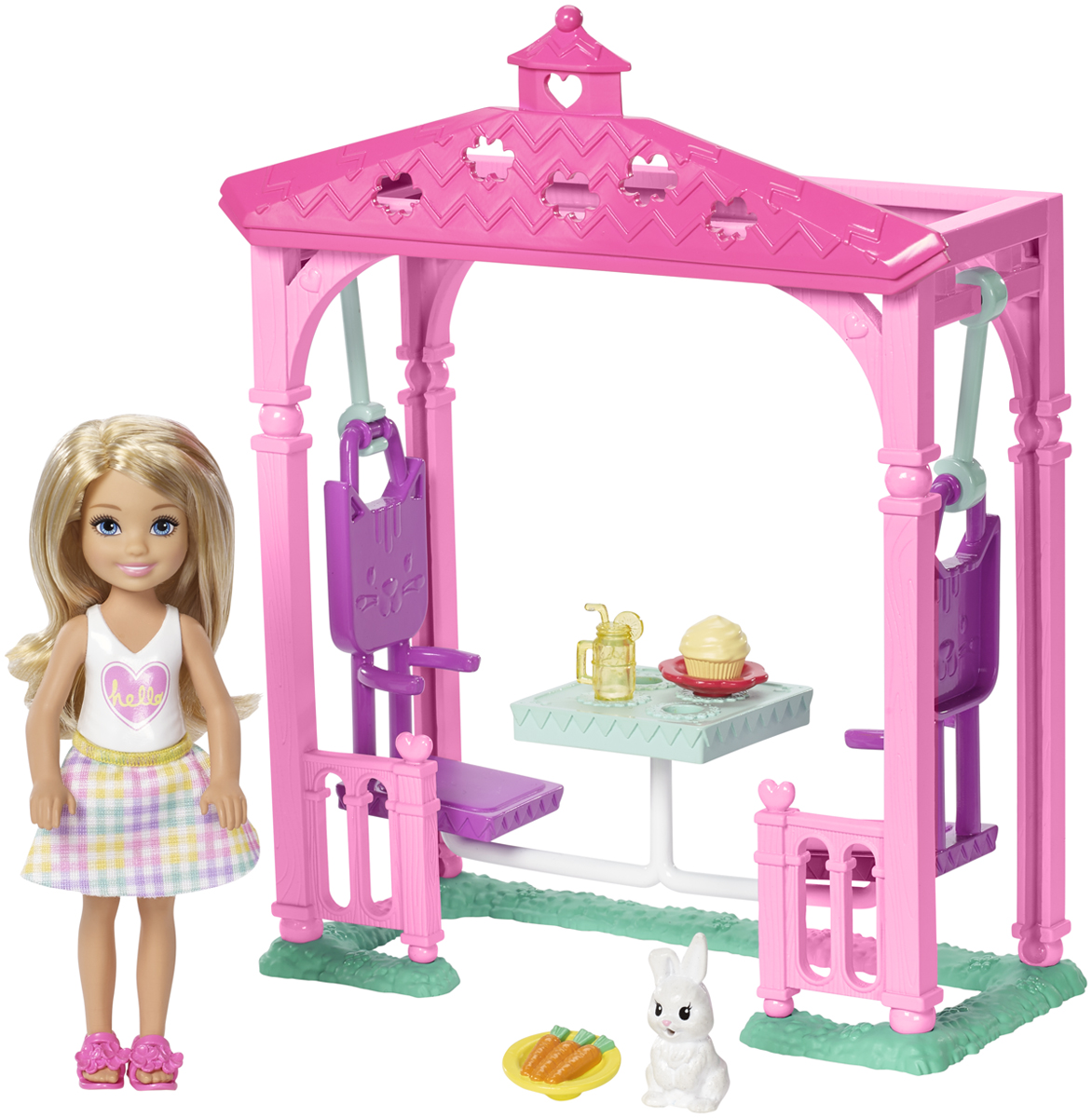 Фото - Barbie Игровой набор с куклой Челси и набор мебели наборы для пикника