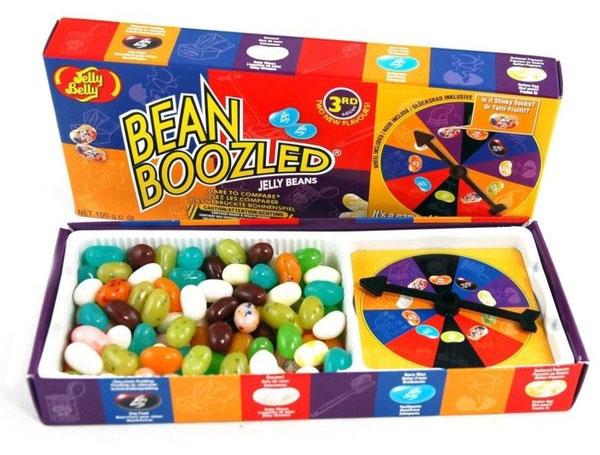 Jelly Belly Игра Bean Boozled с жевательным драже и рулеткой, 100 г 42470 зубная паста babyline тутти фрутти