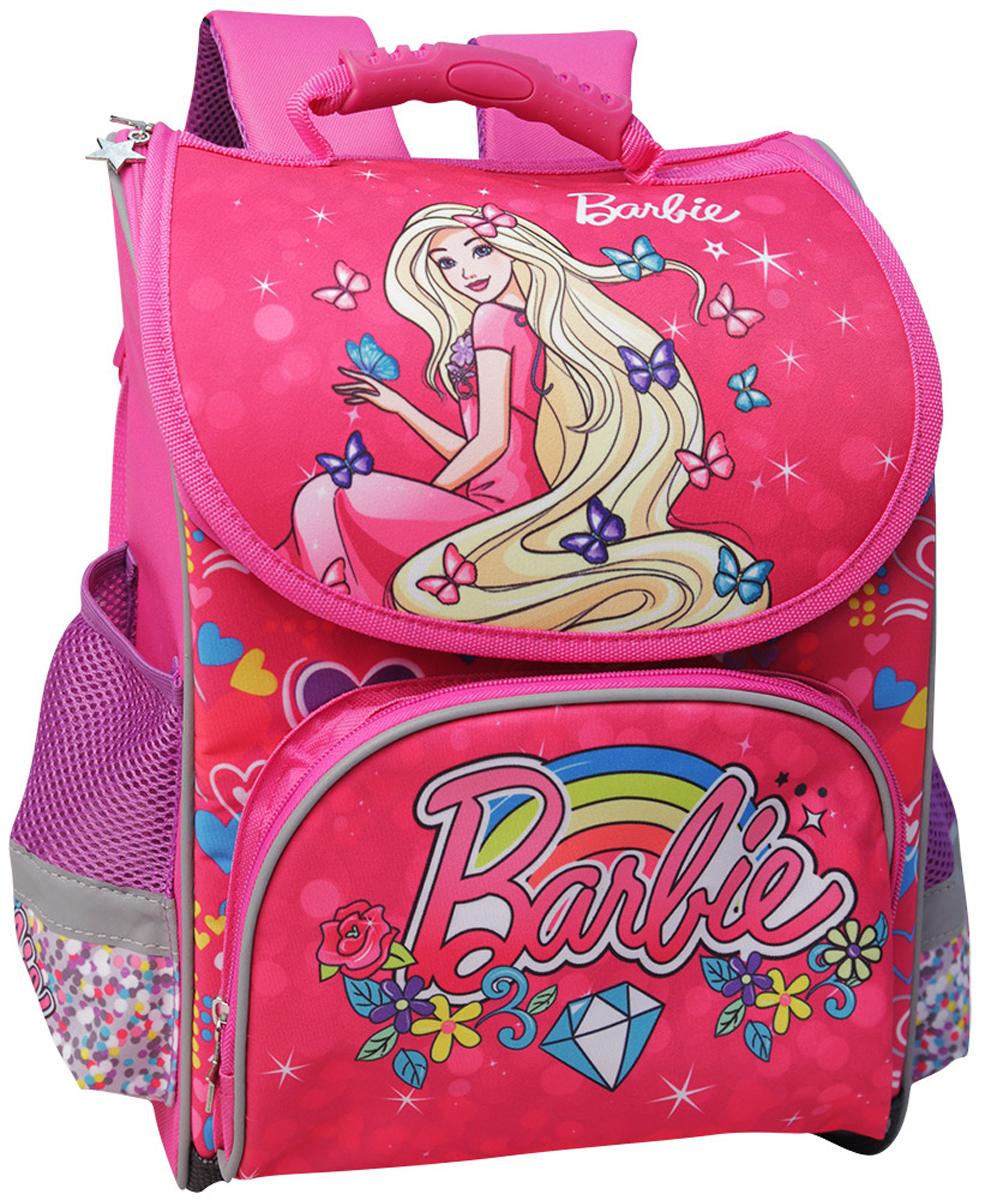 цена Mattel Ранец школьный Premium box Barbie онлайн в 2017 году