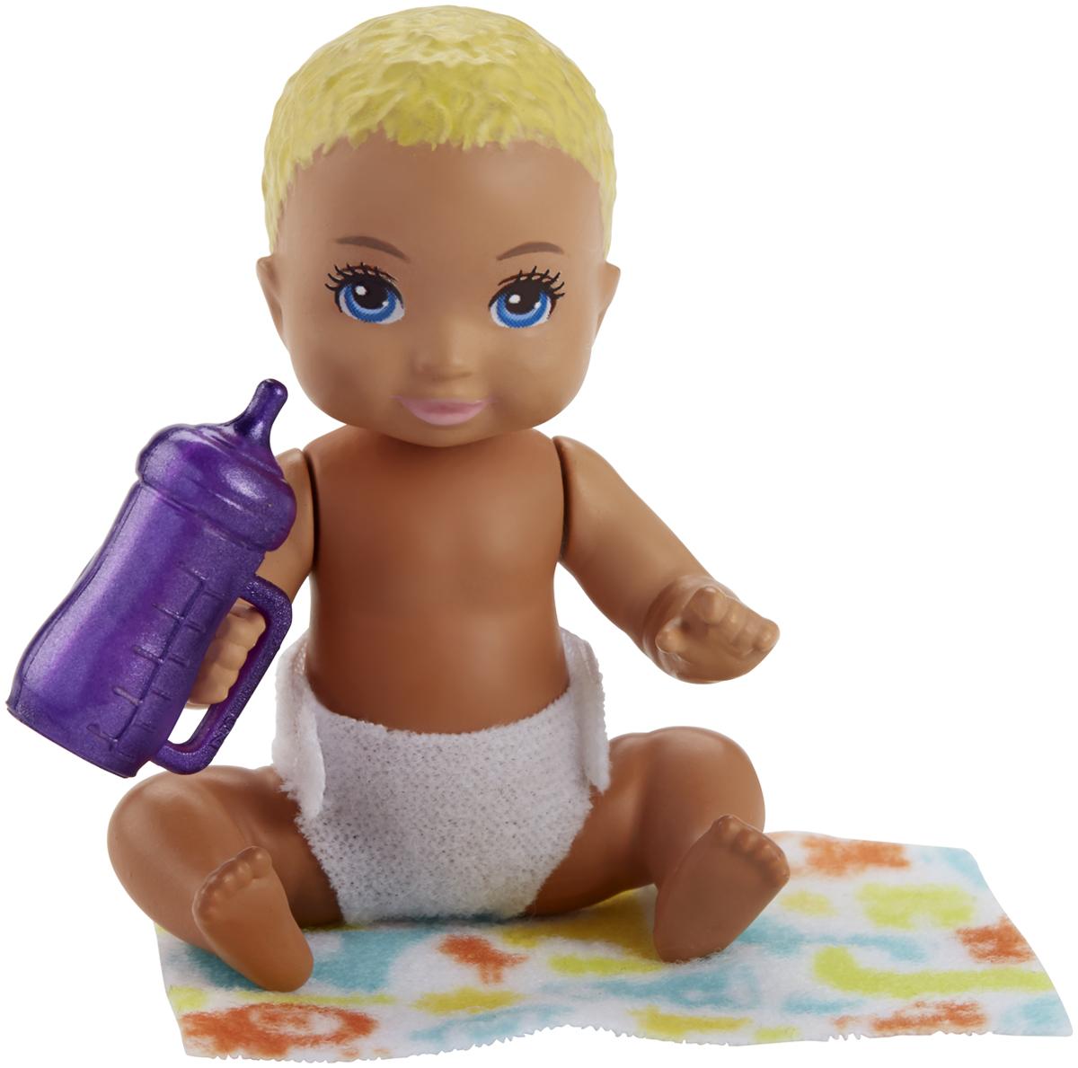 Barbie Игровой набор с куклой Ребенок с аксессуарами FHY76_FHY80