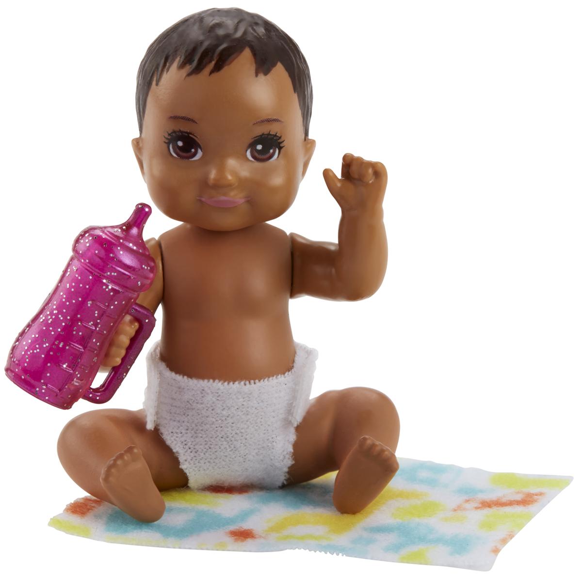 Barbie Игровой набор с куклой Ребенок с аксессуарами FHY76_FHY81