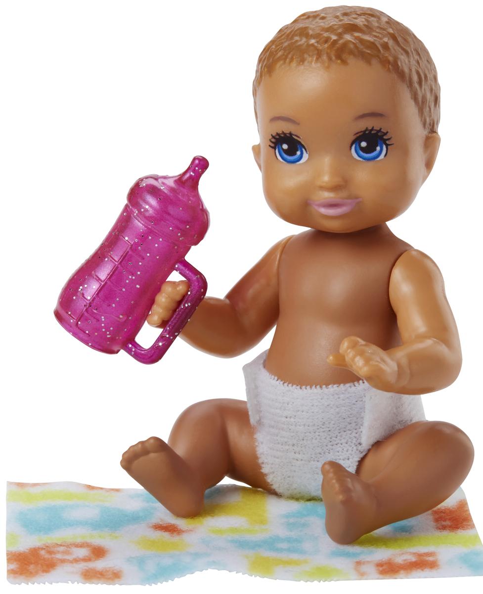 Barbie Игровой набор с куклой Ребенок с аксессуарами