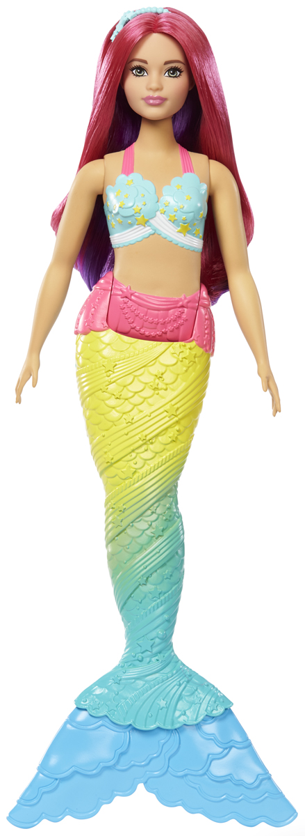 Barbie Кукла Волшебные русалочки цвет мятный, салатовый FJC89_FJC93 barbie кукла волшебные русалочки fjc89 fjc91