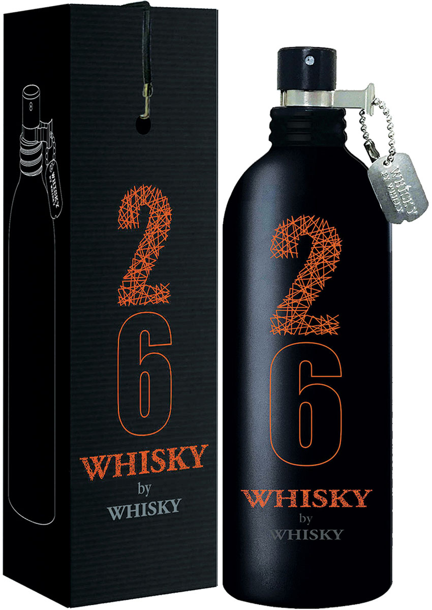 Evaflor 26 Whisky By Whisky, 100 мл 100 мл whisky premium deep blue 90 мл parfums evaflor whisky premium deep blue 90 мл