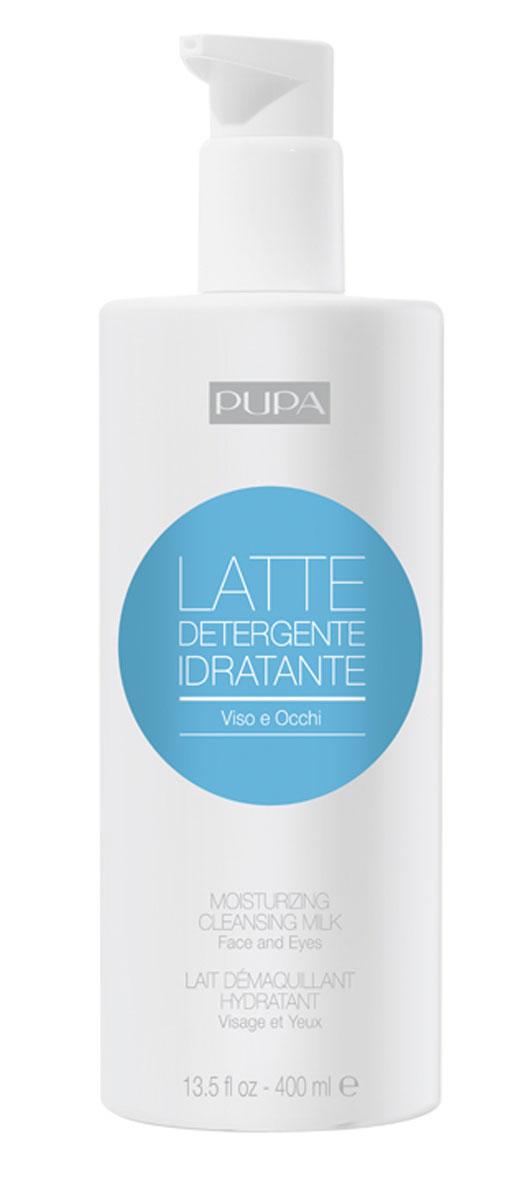 Pupa Молочко для снятия макияжа Moisturizing Cleansing Milk, 400 мл
