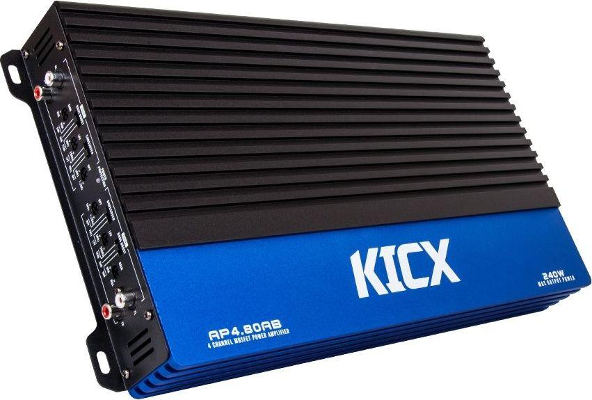 Kicx AP 4.80AB усилитель автомобильный четырехканальный автомобильный усилитель 2 канала sony xm n502 q