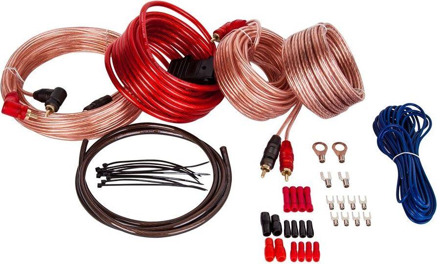 Фото - Kicx AKS10ATC4 установочный комплект кабель клеммы выключатели кабель для датчиков sawo inn wreg10 10 метров