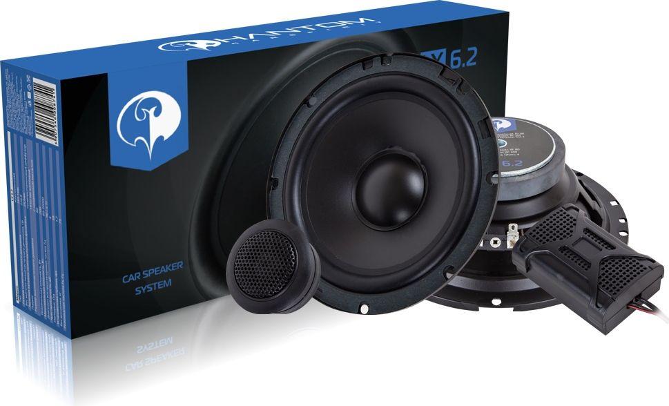 Phantom LX-6.2 колонки автомобильные компонентные родин а ред ремонт вып 112 автомобильные и стационарные аудиосистемы
