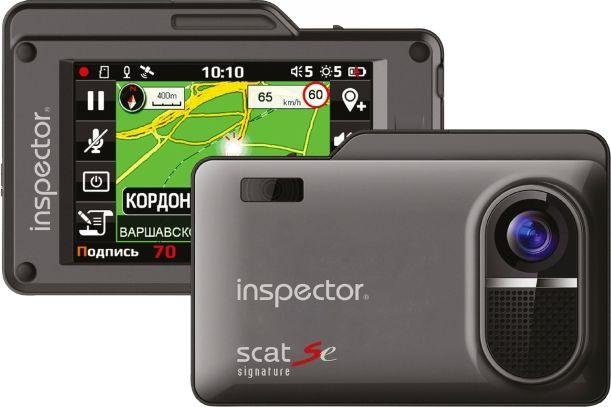 Inspector SCAT SE радар-детектор с видеорегистратором