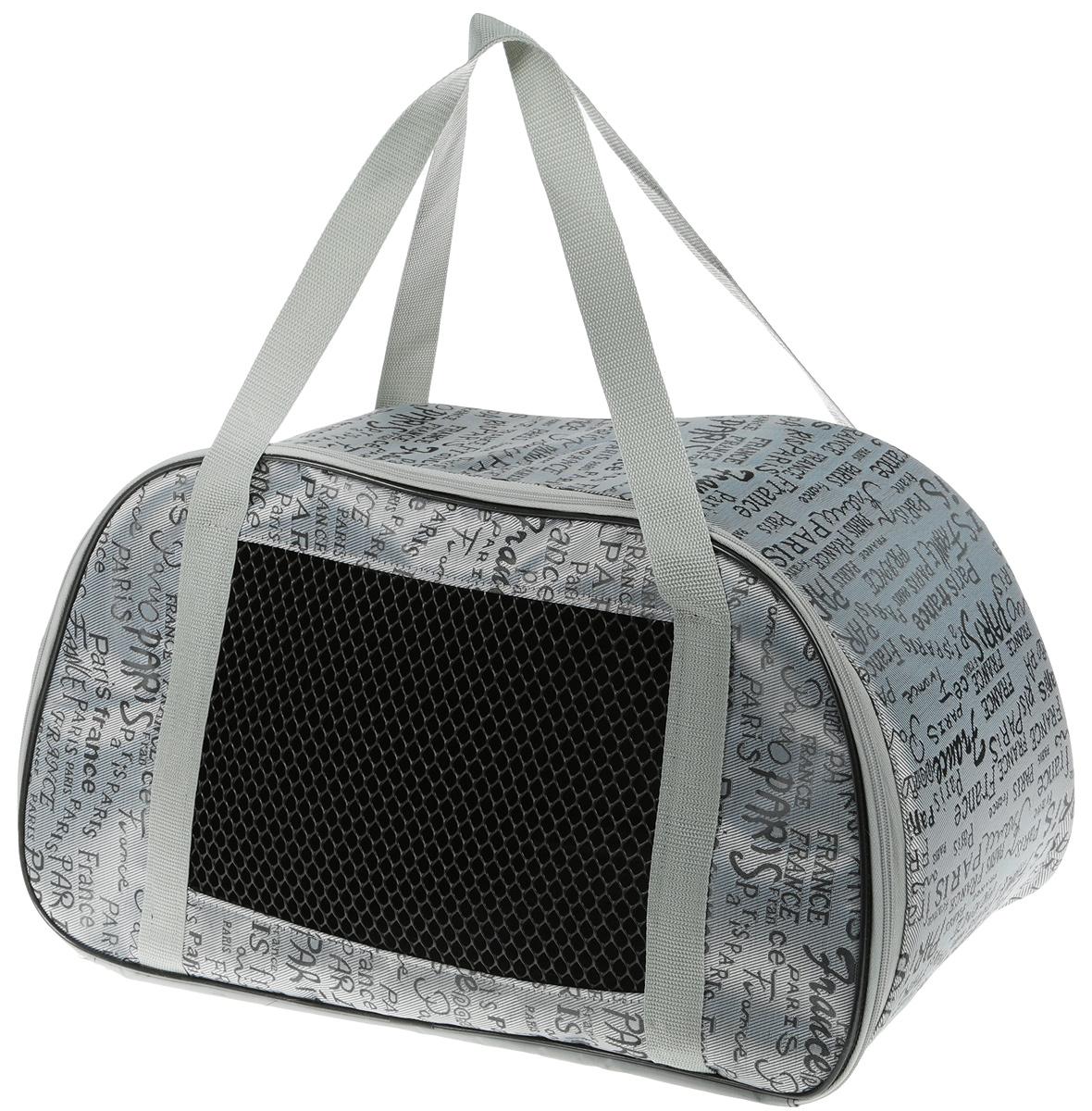 Сумка-переноска для животных Теремок, цвет: хаки, 56 х 28 х 30 см переноска теремок сумка переноска для животных трапеция 28 30 53 см темно зеленый