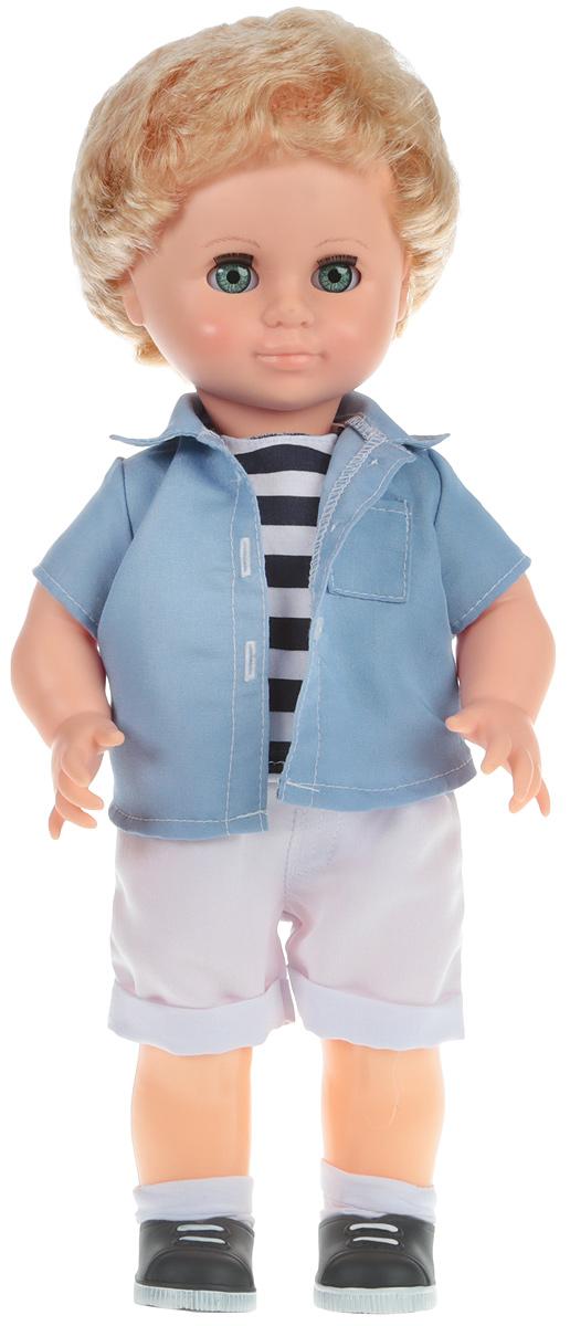 Весна Кукла Мальчик цвет рубашки голубой В3088
