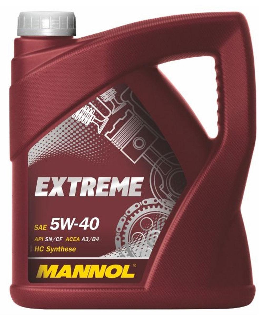 """Моторное масло Mannol """"Extreme 5w40"""", 4 л"""