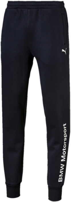 Брюки PUMA BMW MS Logo Sweat Pants олимпийка мужская puma bmw ms sweat jacket цвет темно синий 57525601 размер l 48 50