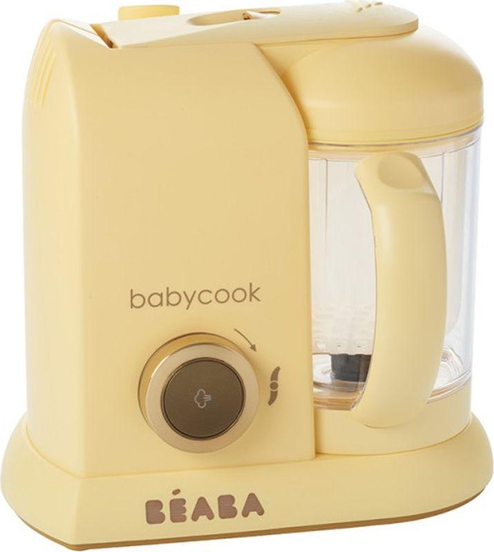Beaba Блендер-пароварка Babycook Macaron цвет кремовый