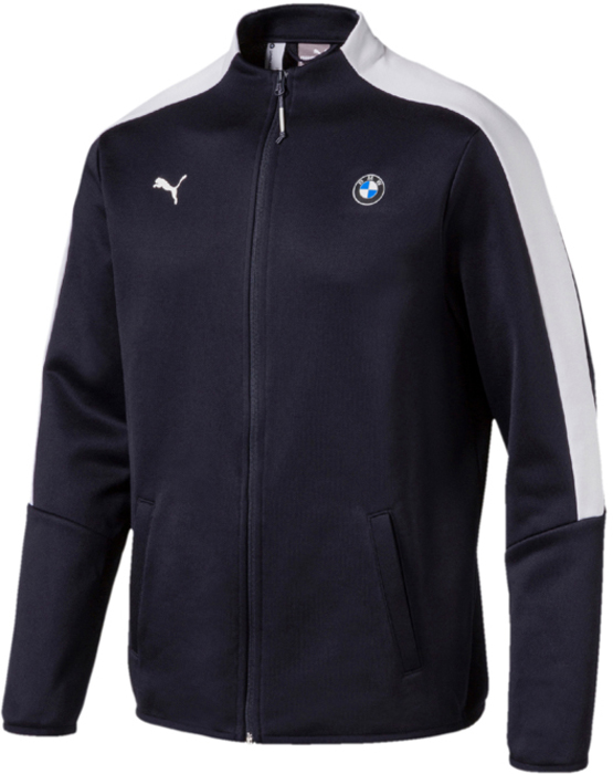 Олимпийка PUMA BMW MS T7 Track Jacket олимпийка мужская puma bmw ms sweat jacket цвет темно синий 57525601 размер l 48 50