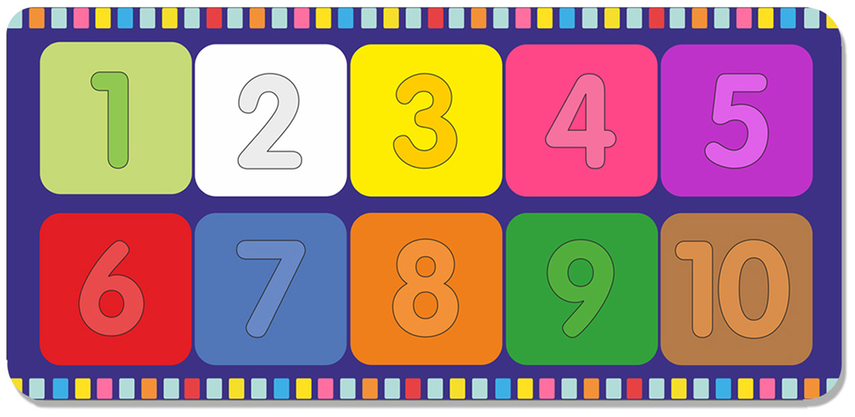 Фабрика Мастер игрушек Рамка-вкладыш Веселые цифры 2 цена