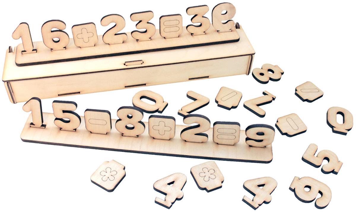 Фабрика Мастер игрушек Развивающая игра Цифры на подставке буквы и цифры мастер игрушек магнитные цифры цифры ig0080