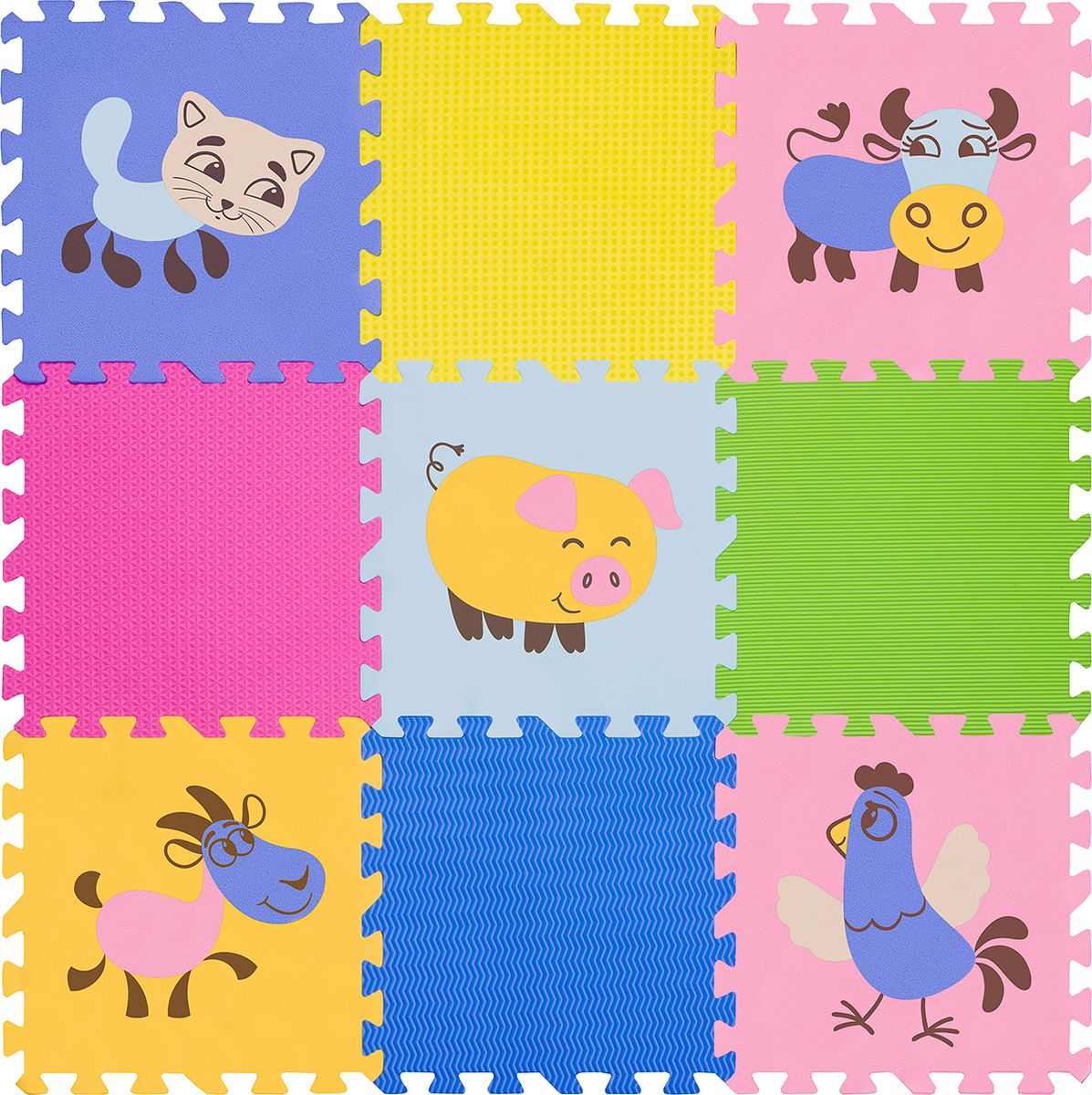 Funkids NT Коврик-пазл с рисунками Окружающий Мир KB-D201B-NT-04
