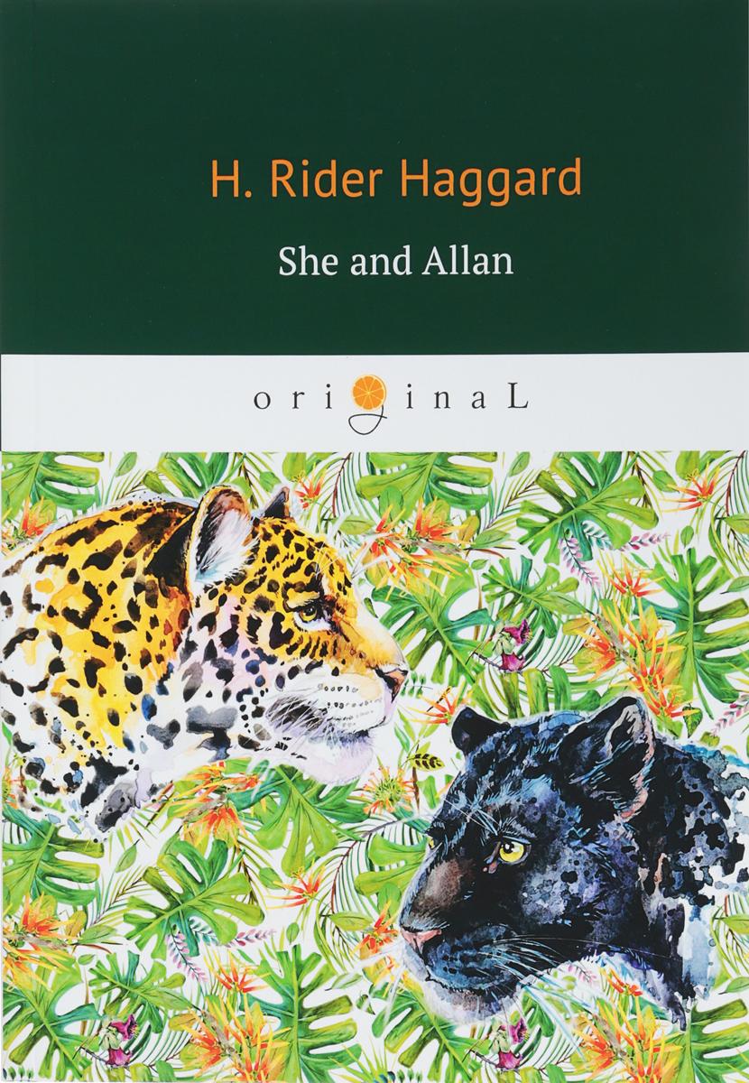 цены на H. Rider Haggard She and Allan  в интернет-магазинах