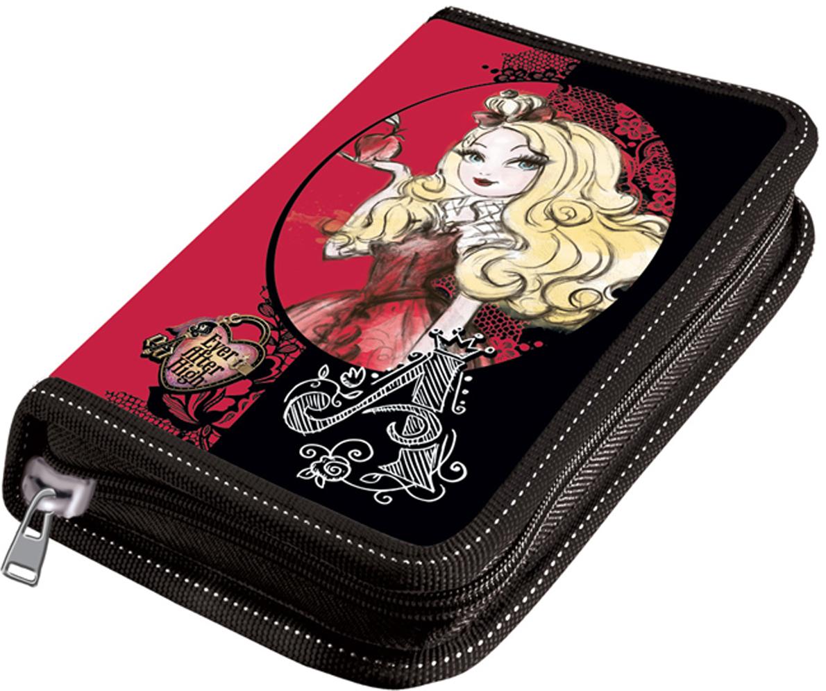 Mattel Пенал Ever After High цвет черный розовый пенал 2ств средн mattel ever after high малин без наполнения 4250504