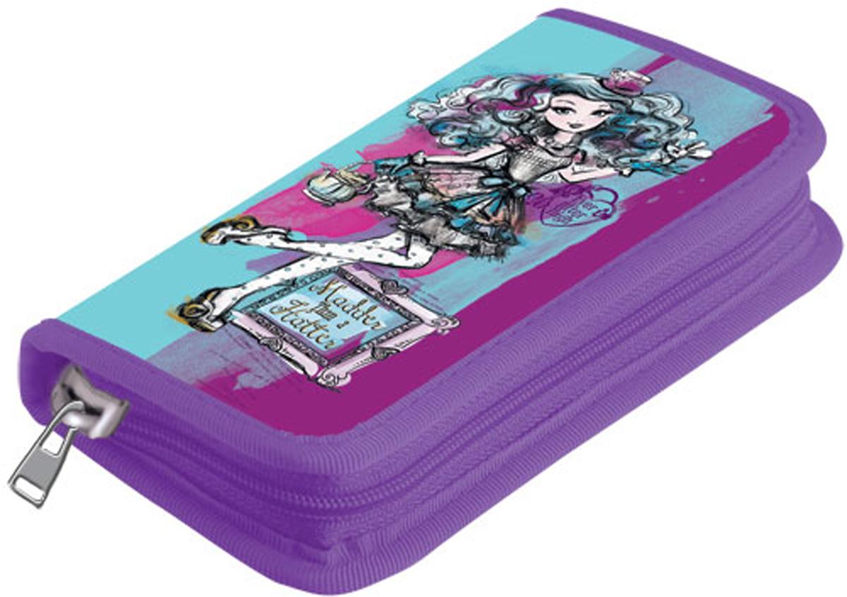 Mattel Пенал с наполнением Ever After High 9 предметов цвет фиолетовый голубой пенал 2ств средн mattel ever after high малин без наполнения 4250504