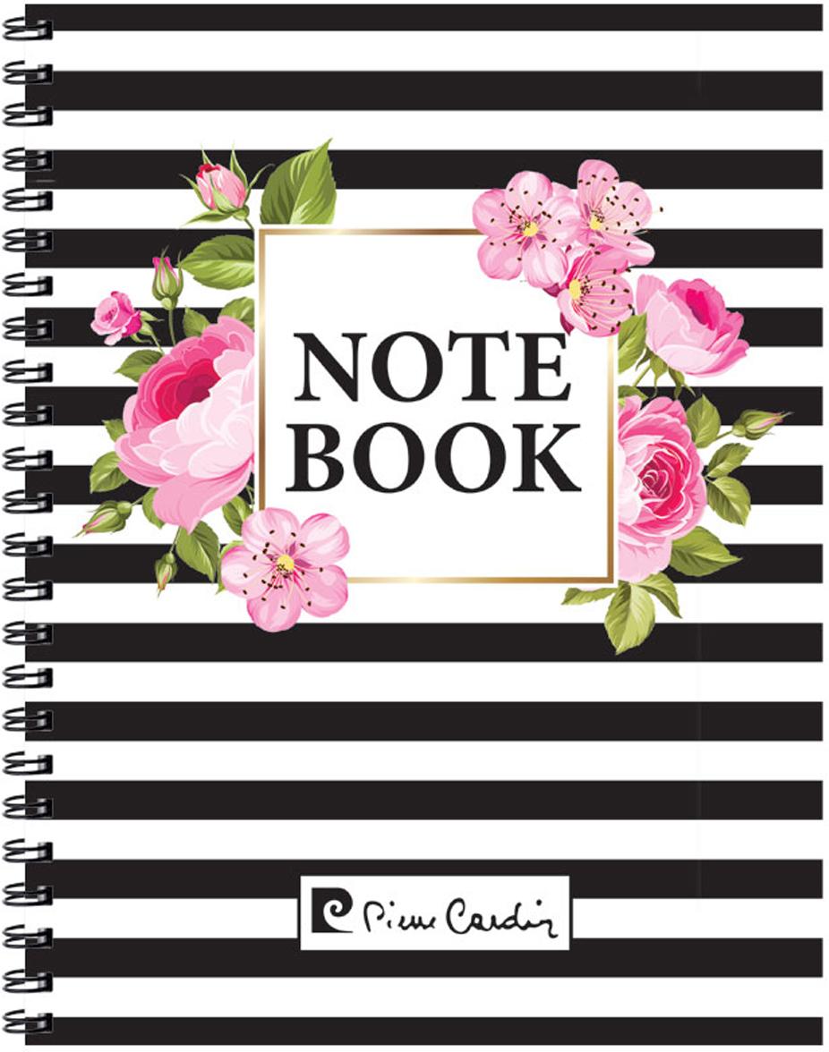 Pierre Cardin Тетрадь Vein 120 листов цвет белый розовый черный формат A4 pierre cardin еженедельник north недатированный 80 листов на резинке цвет светло серый формат a5