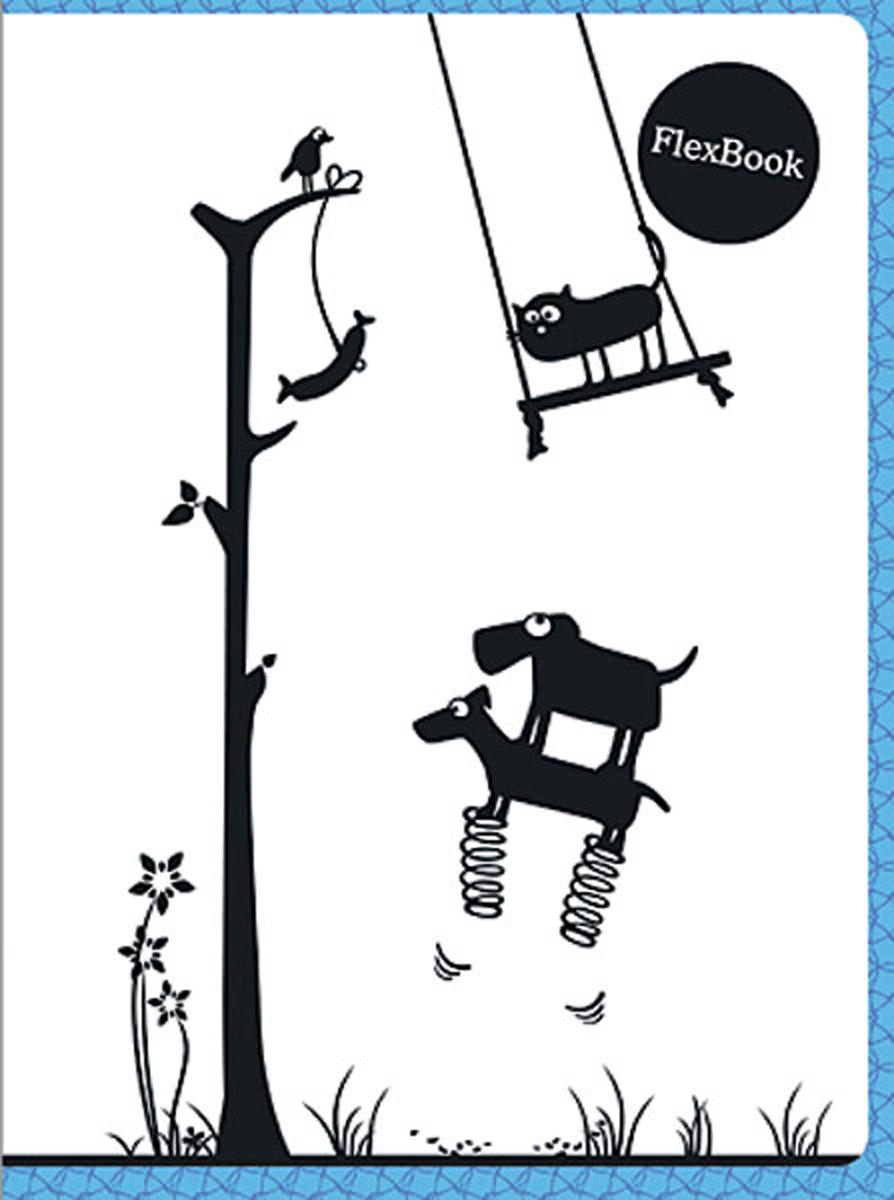 Expert Complete Тетрадь Animals 80 листов в клетку цвет белый черный голубой формат A5 молдинг центральных стоек mirror kia the suv sportage racetech для kia sportage iv 2016