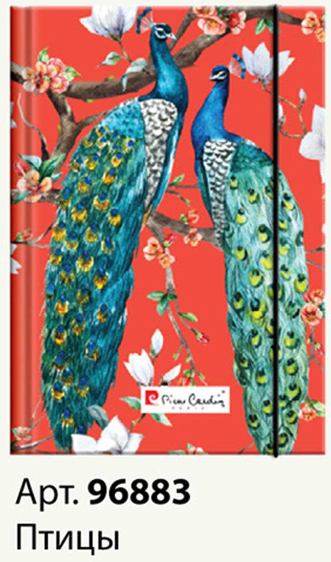 Pierre Cardin Еженедельник Birds недатированный 80 листов на резинке цвет зеленый красный формат A596883Еженедельник Pierre Cardin - это неотъемлемый атрибут делового человека, который ценит свое время и умеет правильно организовать свой трудовой день. Недатированность страниц ежедневника удобна тем, что его можно начать вести с любого дня. На форзаце лист целепологания. Выполнен в твердой обложке. Такой ежедневник олицетворяет собой простоту формы, практичности, свойственные офисной атмосфере. Рекомендуем!