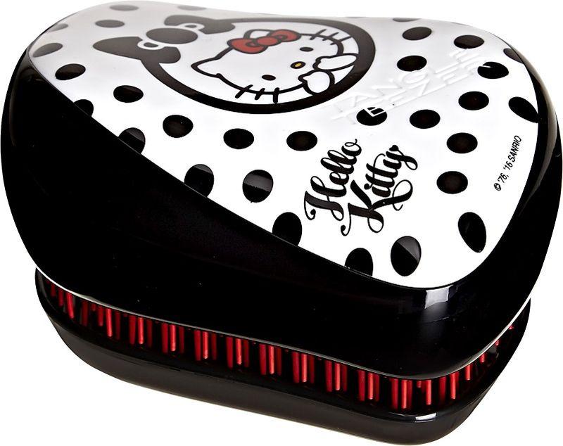 Tangle Teezer Расческа Compact Styler Hello Kitty Black
