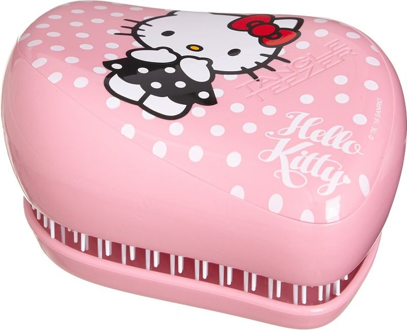 Tangle Teezer Расческа Compact Styler Hello Kitty Pink