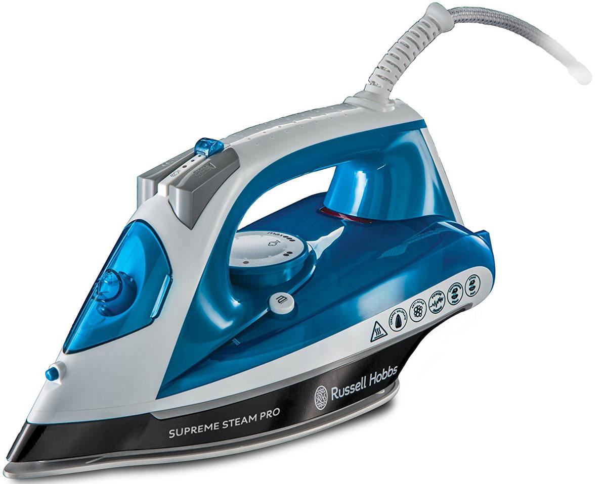 Утюг Russell Hobbs 23971-56 Supreme Steam Pro, Light Blue